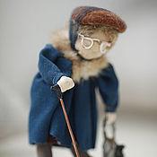 Куклы и игрушки ручной работы. Ярмарка Мастеров - ручная работа Кукла скрутка Баба Шура. Handmade.