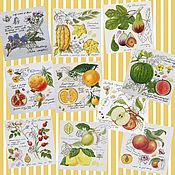 Картины и панно handmade. Livemaster - original item Panels: Botany, series. Handmade.