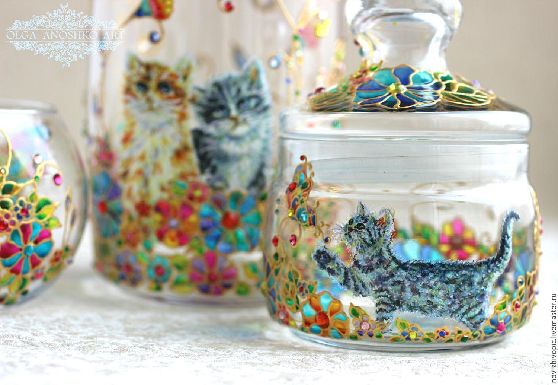 Gift set 'the Dream Mistress' cat, Jars, Velikiy Novgorod,  Фото №1