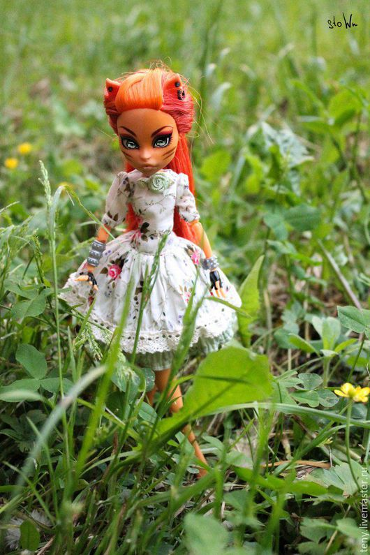 Одежда для кукол ручной работы. Ярмарка Мастеров - ручная работа. Купить Одежда для кукол Monsterhigh. Handmade. Монстер хай, шебби