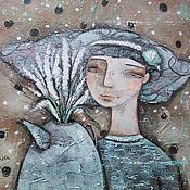 Картины и панно ручной работы. Ярмарка Мастеров - ручная работа Глаша. Handmade.