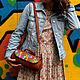 Женские сумки ручной работы. Сумочка-батончик из натуральной кожи. LITTLE BIRDS изделия из кожи(Дарья). Ярмарка Мастеров. Сумка женская