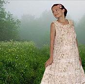 """Одежда ручной работы. Ярмарка Мастеров - ручная работа Платье """"Милое милое лето ..."""". Handmade."""