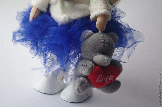 Куклы тыквоголовки ручной работы. Ярмарка Мастеров - ручная работа. Купить Интерьерная кукла. Handmade. Тёмно-синий