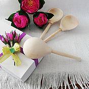 Ложки ручной работы. Ярмарка Мастеров - ручная работа Ложка полубаска деревянная. Handmade.