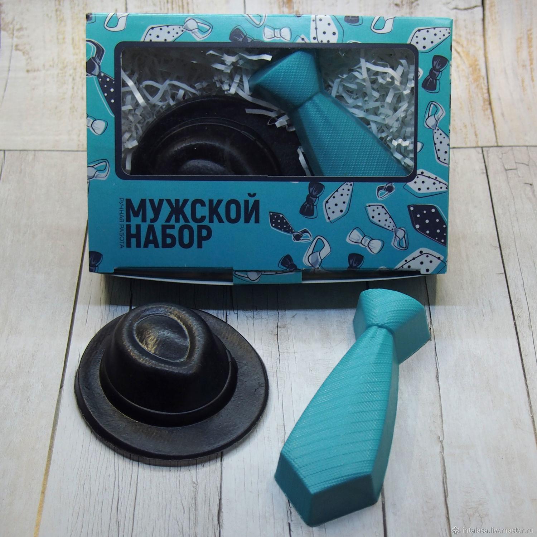 """Набор из сувенирного мыла """"Джентельменский набор"""", Мыло, Москва,  Фото №1"""
