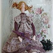 Куклы и игрушки ручной работы. Ярмарка Мастеров - ручная работа Кукла в стиле Тильда.Эльза-лавандовое бохо.. Handmade.