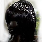 Свадебный салон handmade. Livemaster - original item Twig for hair for wedding