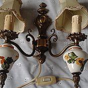 Винтажный светильник-бра.Голландия.