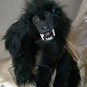 Мягкие игрушки ручной работы. Ярмарка Мастеров - ручная работа Мягкие игрушки: фантазийный зверь. Handmade.