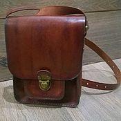 Мужская сумка ручной работы. Ярмарка Мастеров - ручная работа Кожаная сумка,мужская. Handmade.