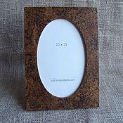 Сувениры и подарки manualidades. Livemaster - hecho a mano Marco de fotos de abedul de carelia 10 x 15. Handmade.