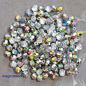 Материалы для творчества handmade. Livemaster - original item 25 PCs 4 mm Beads V00030 Fire Polished Czech glass beads. Handmade.