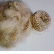 Материалы для творчества handmade. Livemaster - original item Dog hair (coat collie). Handmade.