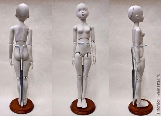 Куклы и игрушки ручной работы. Ярмарка Мастеров - ручная работа. Купить Подставка для кукол 40-50 см. Handmade. Коричневый