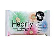 Материалы для творчества ручной работы. Ярмарка Мастеров - ручная работа Hearty (Харти) - 200 г - Padico, Япония - белая самозастывающая глина. Handmade.
