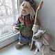 Кукла баба Яга, Яга, баба Яга, Баба Яга кукла, сказка, народные сказки, сказочный герой.