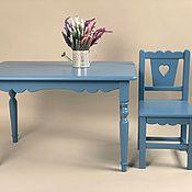 Мебель ручной работы. Ярмарка Мастеров - ручная работа Детский стол деревянный. Handmade.
