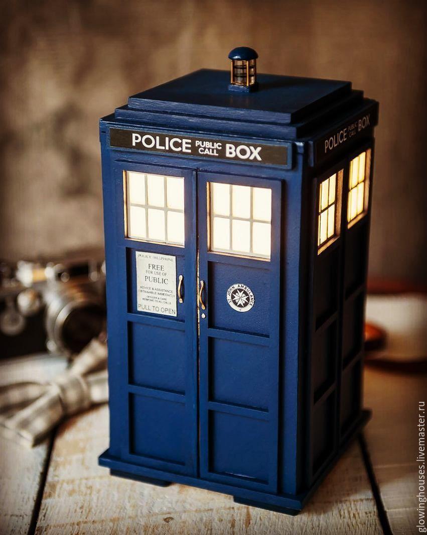 Buy TARDIS lamp on Livemaster online shop