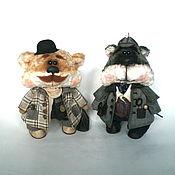 Куклы и игрушки ручной работы. Ярмарка Мастеров - ручная работа Шерлок Холмс и Доктор Ватсон.. Handmade.