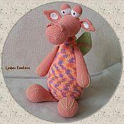 Куклы и игрушки ручной работы. Ярмарка Мастеров - ручная работа Задумчивый Дракоша. Handmade.
