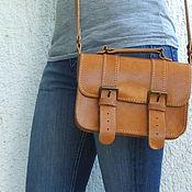 Сумки и аксессуары ручной работы. Ярмарка Мастеров - ручная работа Маленькая сумочка ранец, сумка через плечо, кросс боди. Handmade.