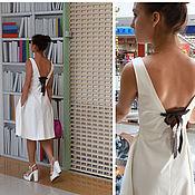 Одежда ручной работы. Ярмарка Мастеров - ручная работа Платье, хлопок. Handmade.