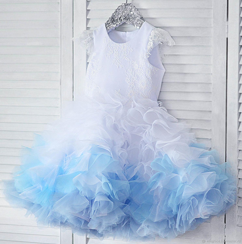 """Платье с градиентом """"Облака"""", Платья, Новосибирск,  Фото №1"""