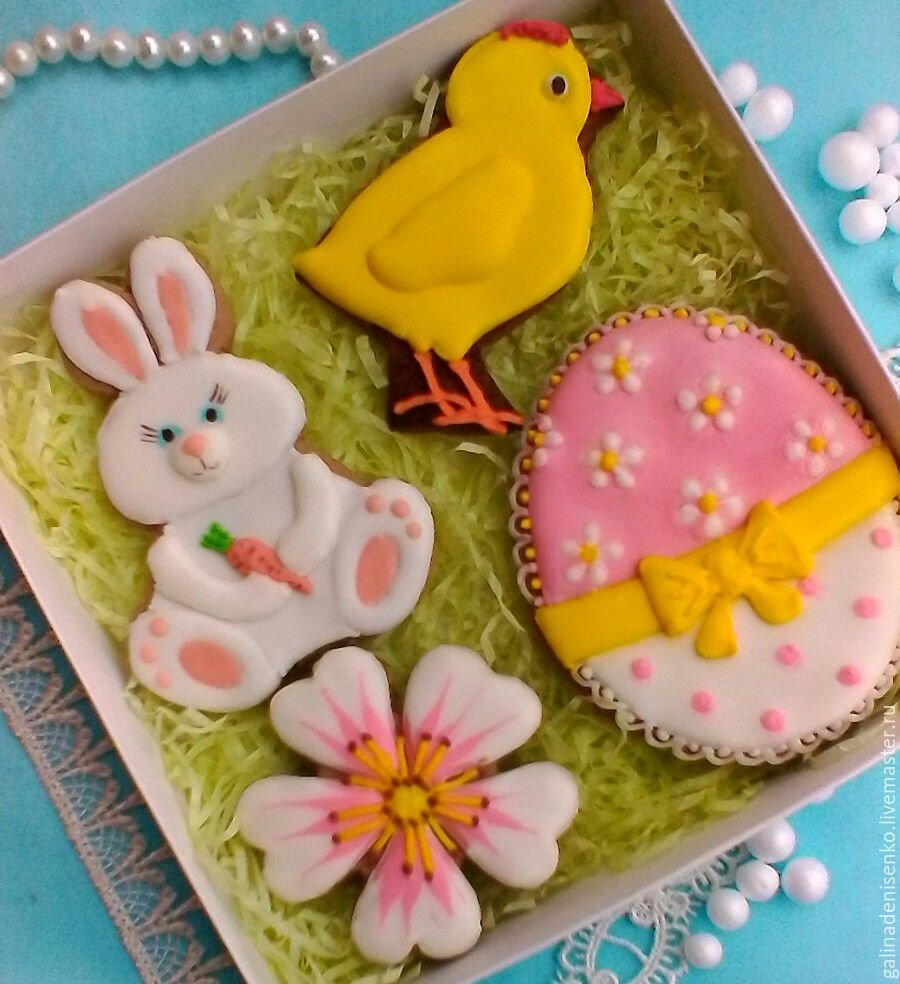 Set of Easter cakes. Gingerbread Easter, Gingerbread Cookies Set, Rostov-on-Don,  Фото №1
