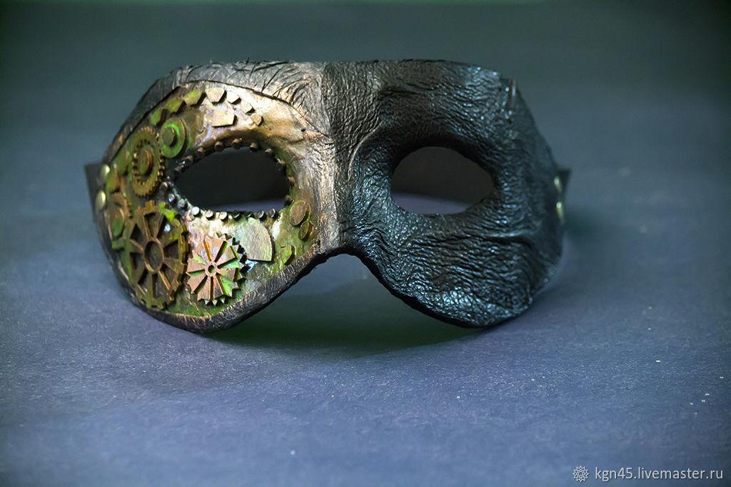 Mask steampunk, Character masks, Kurgan,  Фото №1