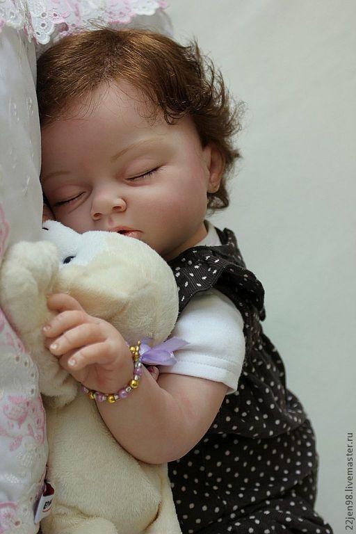 Куклы-младенцы и reborn ручной работы. Ярмарка Мастеров - ручная работа. Купить И снова МИШЕЛЬ(4). Handmade. Авторская кукла