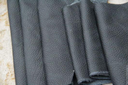 Шитье ручной работы. Ярмарка Мастеров - ручная работа. Купить №8.9 Черная.1мм.1037 грамм Натуральная кожа. Handmade.
