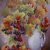 Картины и панно ручной работы. Ярмарка Мастеров - ручная работа Осенний мотив. Handmade.