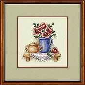 """Картины и панно ручной работы. Ярмарка Мастеров - ручная работа """"Цветы в кувшине"""". Handmade."""