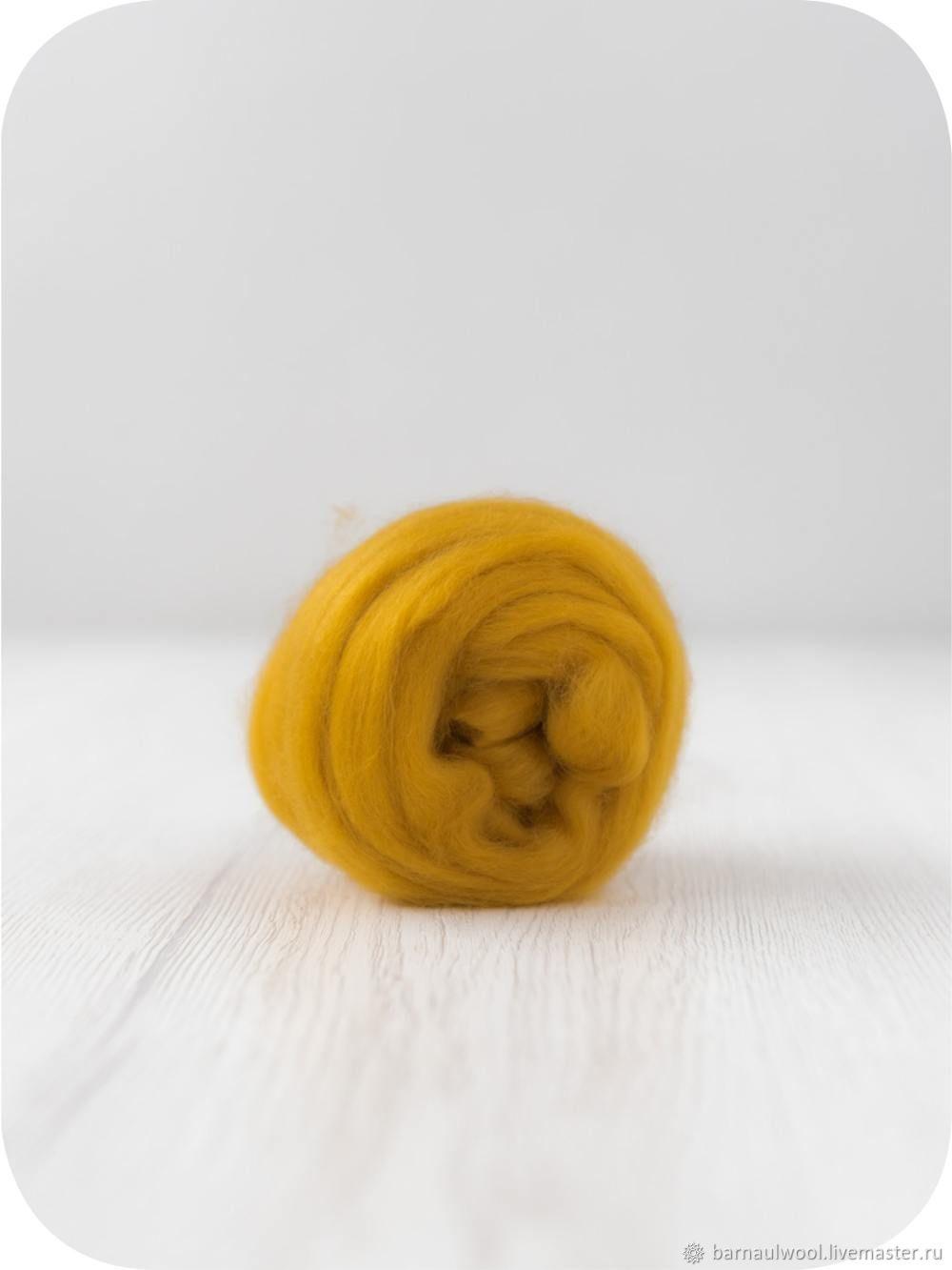 Топс кашемир шафран 10 грамм Италия, Валяние, Барнаул, Фото №1