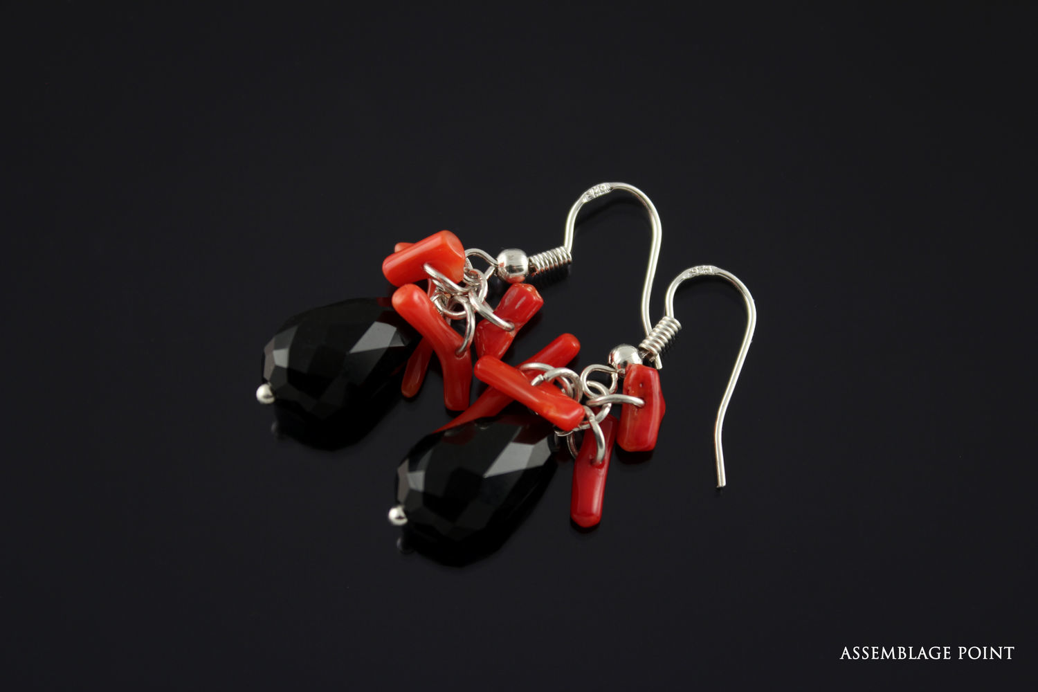 Earrings 'Bloody Mary', Earrings, St. Petersburg,  Фото №1