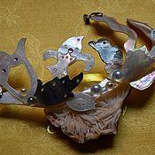 """Украшения ручной работы. Ярмарка Мастеров - ручная работа Кулон """"Цветы"""". Handmade."""