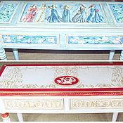 Для дома и интерьера ручной работы. Ярмарка Мастеров - ручная работа Роспись мебели. Handmade.