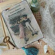 """Для дома и интерьера ручной работы. Ярмарка Мастеров - ручная работа Книга-шкатулка """"Истории для детей"""". Handmade."""