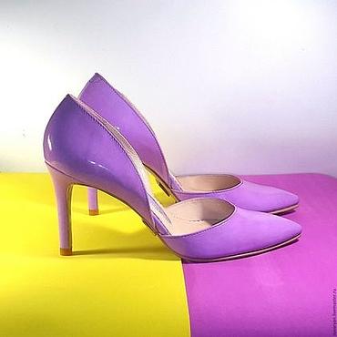 Обувь ручной работы. Ярмарка Мастеров - ручная работа Туфли женские делёнки ( работа на заказ ) арт 820. Handmade.