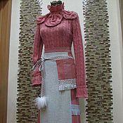 """Одежда ручной работы. Ярмарка Мастеров - ручная работа Авторский бохо- свитер """"Snow Rose"""". Handmade."""