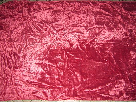 Куклы и игрушки ручной работы. Ярмарка Мастеров - ручная работа. Купить (146-5-В) Ткань Плюш х-б времен СССР винтаж 137х210. Handmade.