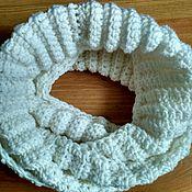 Работы для детей, ручной работы. Ярмарка Мастеров - ручная работа Мягкий шарф-снуд для малышки. Handmade.