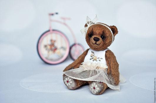 Мишки Тедди ручной работы. Ярмарка Мастеров - ручная работа. Купить Мишка Тедди -Машенька. Handmade. Коричневый, мишка в подарок