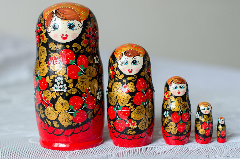 Matreshka 5 places, Dolls1, Nizhny Novgorod,  Фото №1