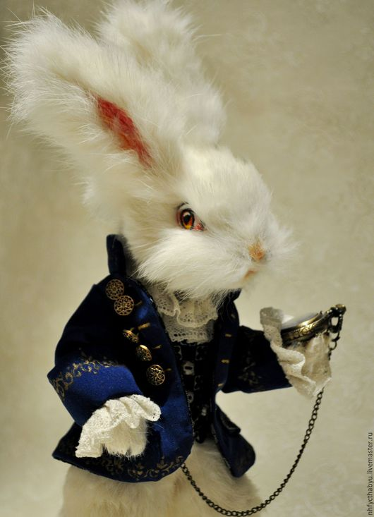 Коллекционные куклы ручной работы. Ярмарка Мастеров - ручная работа. Купить Кролик из Алисы. Handmade. Кролик, коллекционная кукла