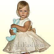 Работы для детей, ручной работы. Ярмарка Мастеров - ручная работа Детское нарядное платье Жемчужина. Handmade.