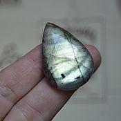 Материалы для творчества handmade. Livemaster - original item Labradorite. Cabochon 38 X 26 X 7. Handmade.