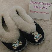 Обувь ручной работы handmade. Livemaster - original item Baby sheepskin Slippers 26-30. Handmade.