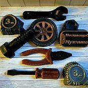 Мыло ручной работы. Ярмарка Мастеров - ручная работа Мыло инструменты,подарок для мужчин!!!. Handmade.